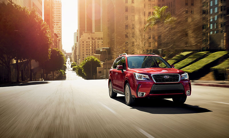 <b>2018 Forester</b><br><br>Get in, and get inspired to do more. The 2018 Forester is a favorite when it comes to pursuing your passions with those you care about most.