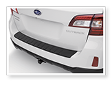Subaru Outback Read Bumper Cover,