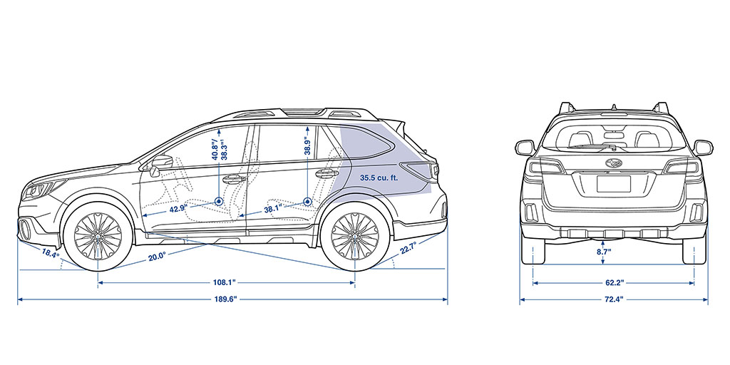 Subaru Outback Interior Dimensions Ideas