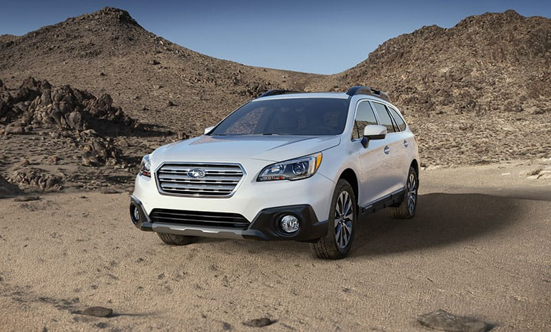 All New 2017 Subaru Outback Gallery
