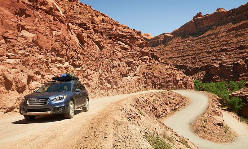 <b>Suspension</b>          With Subaru Symmetrical All-Wheel Drive and 8.7 inches of ground clearance, you'll be able to go places that are seldom seen by other crossover owners.