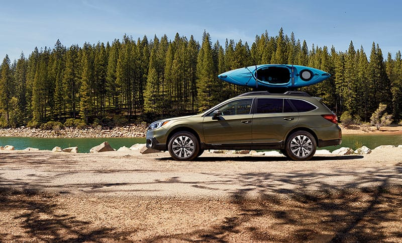 <b>More Adventures Per Gallon</b>  Outback owners get out and do things, regularly. With engine and transmission options optimized for efficiency, and an aerodynamic body with Active Grille Shutters,<sup>11</sup> it's no accident the Outback is the most fuel-efficient midsize crossover in America.<sup>2</sup> Knowing you'll have plenty in the tank for the next adventure, weekend after weekend, year after year—it just feels good.