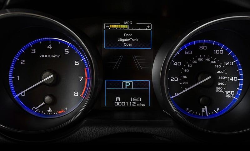 <b>Instrument Cluster </b>  Sharp and clear, the available electroluminescent gauges not only feature a new sporty look, but are also easy to read. And with the centrally located color LCD display, you get all the information you need, fast.