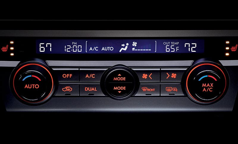 <b>Dual-zone Automatic Climate Control</b>          Enjoy custom comfort with available dual-zone automatic climate control. The driver and front passenger can set their own temperatures and the system will adjust the air conditioning or heating to keep it just right.