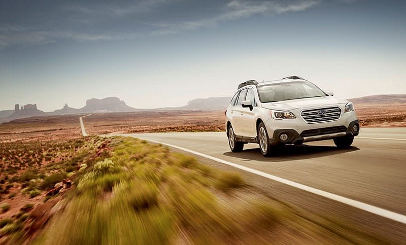 <br>With up to 32 MPG highway, the AWD Outback is the most fuel efficient midsize crossover in America<sup>2</sup>.<br><br><br>
