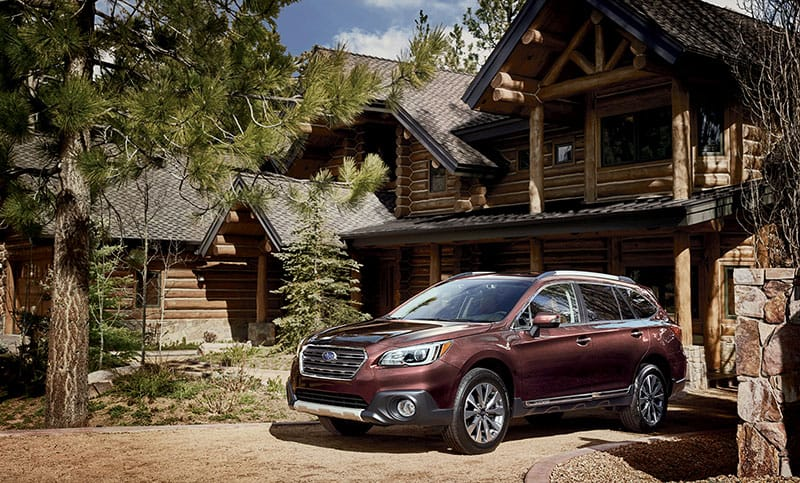 Don't let its luxurious style fool you. The Outback Touring is very capable, thanks to Subaru Symettrical All-Wheel Drive and 8.7 inches of ground clearance.