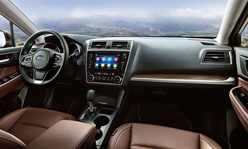 The Outback Touring Greets You With Luxurious Styling Highlighted By Woodgrain Accents Throughout And Java