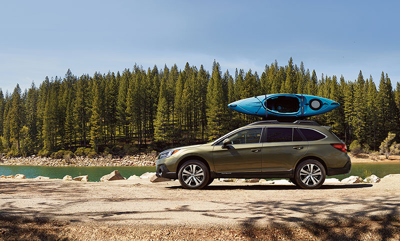 <b>More Adventures Per Gallon</b><br><br>Outback owners get out and do things, regularly. With engine and transmission options optimized for efficiency, and an aerodynamic body with Active Grille Shutters,<sup>11</sup> it's no accident that the Outback is the most fuel-efficient vehicle in its class<sup>2</sup> Knowing you'll have plenty in the tank for the next adventure, weekend after weekend, year after year—it just feels good.
