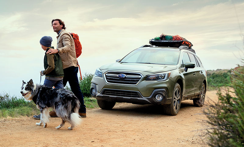 <br>The Outback has always been engineered with safety in mind, and for 2018 we made it even safer, with standard and available features to help give you confidence to go farther out there.<br><br>