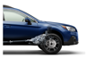 <b>Exceptional Control</b><br><br>Subaru Symmetrical All-Wheel Drive helps keep things stable in emergency maneuvers, while VDC electronic stability control can detect loss of control and intervene to help keep you on your intended path.<br>