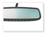 Auto-dimming Mirror with Compass and HomeLink