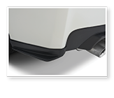 STI Rear Quarter Under Spoiler