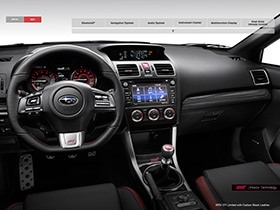 wrx interior features and technology 2016 subaru wrx. Black Bedroom Furniture Sets. Home Design Ideas