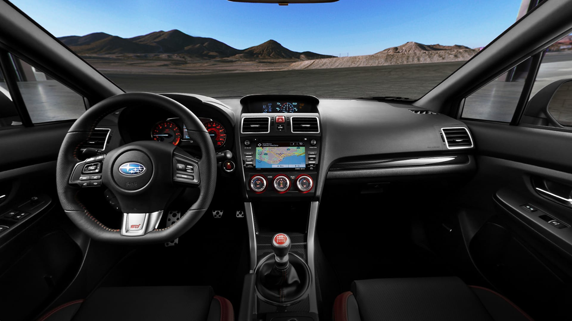 2017 Subaru WRX STI Interior Tour | 360 Degree Interior view