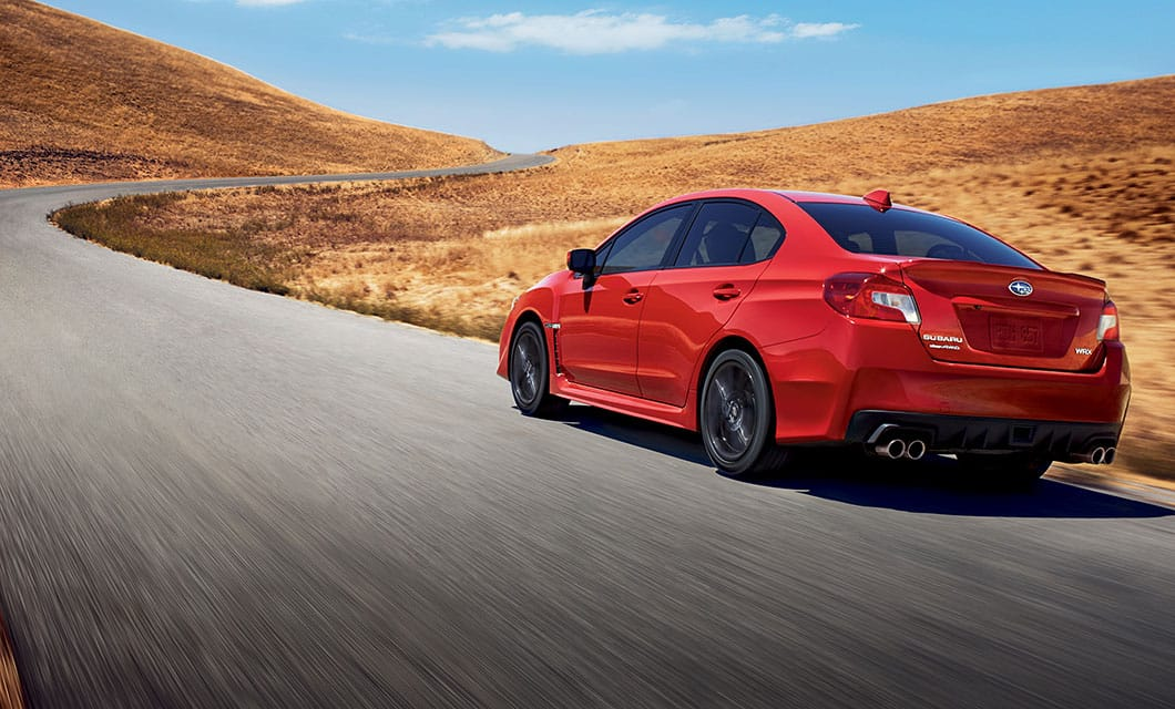 <br>With such stylish looks and civilized manners, you might not know the WRX has the soul of a rally car.<br><br><br>