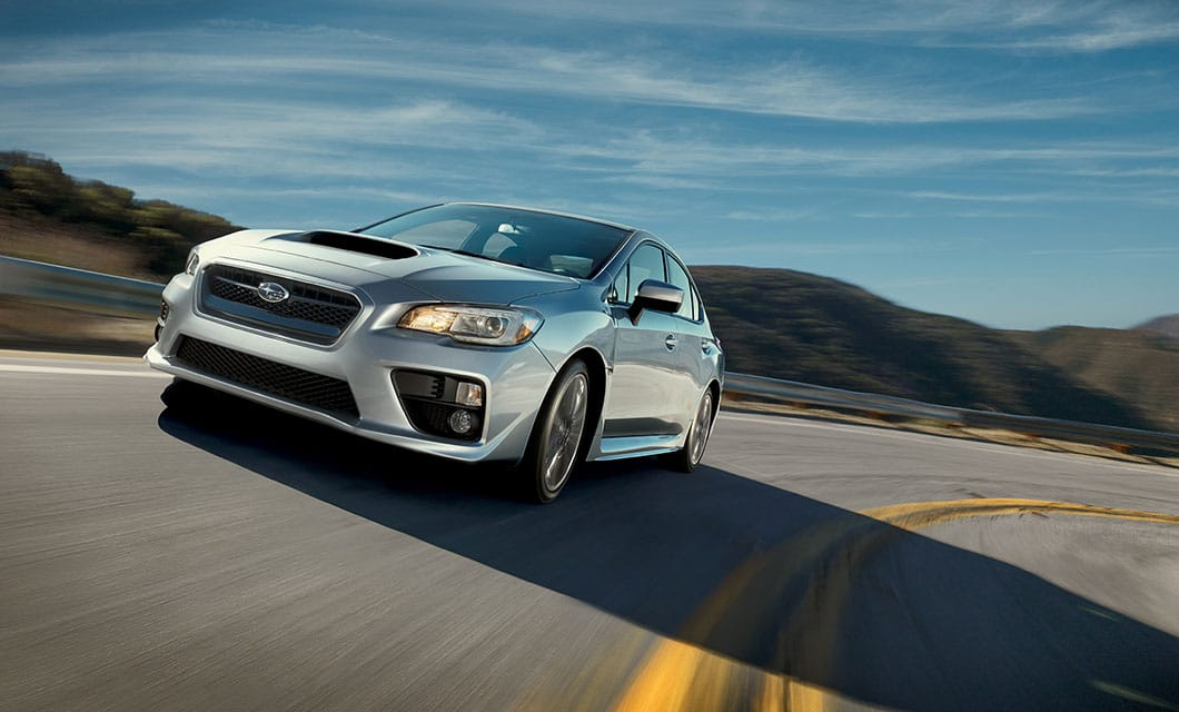 <br>The WRX is more than just a pretty sight. Its rigid unibody chassis gives it otherworldly handling in the twisties.<br><br><br>