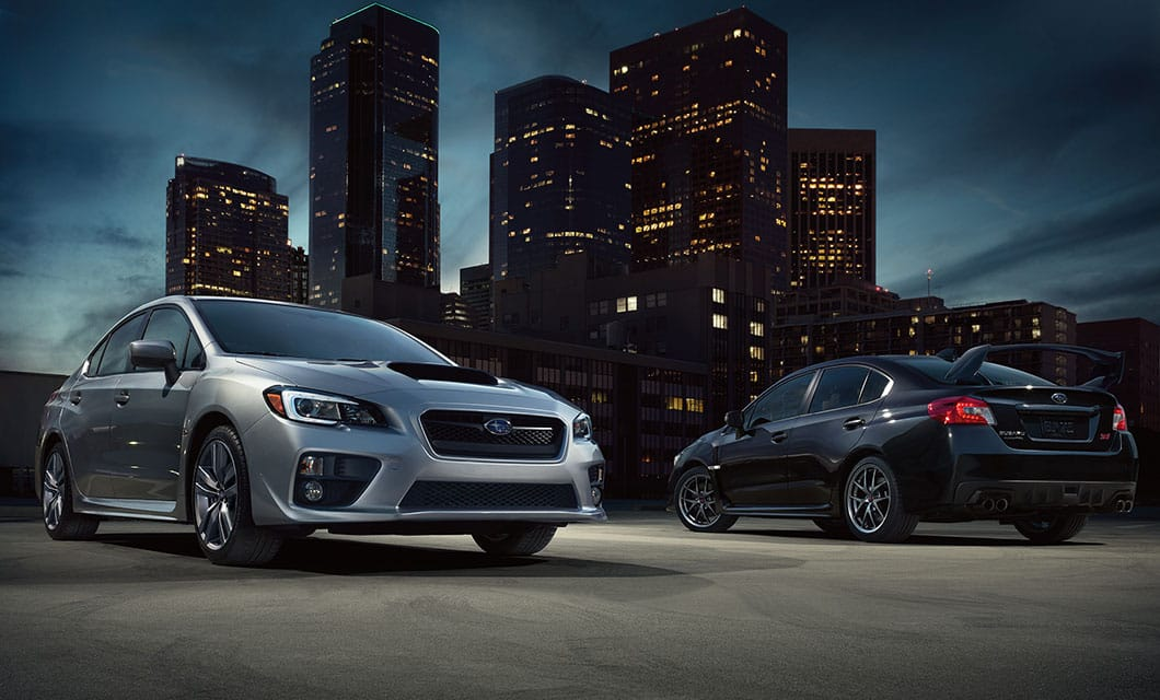 <br>The WRX has a balanced suspension that's firm enough for performance driving, and compliant enough for bumpy inner-city asphalt.<br><br><br>
