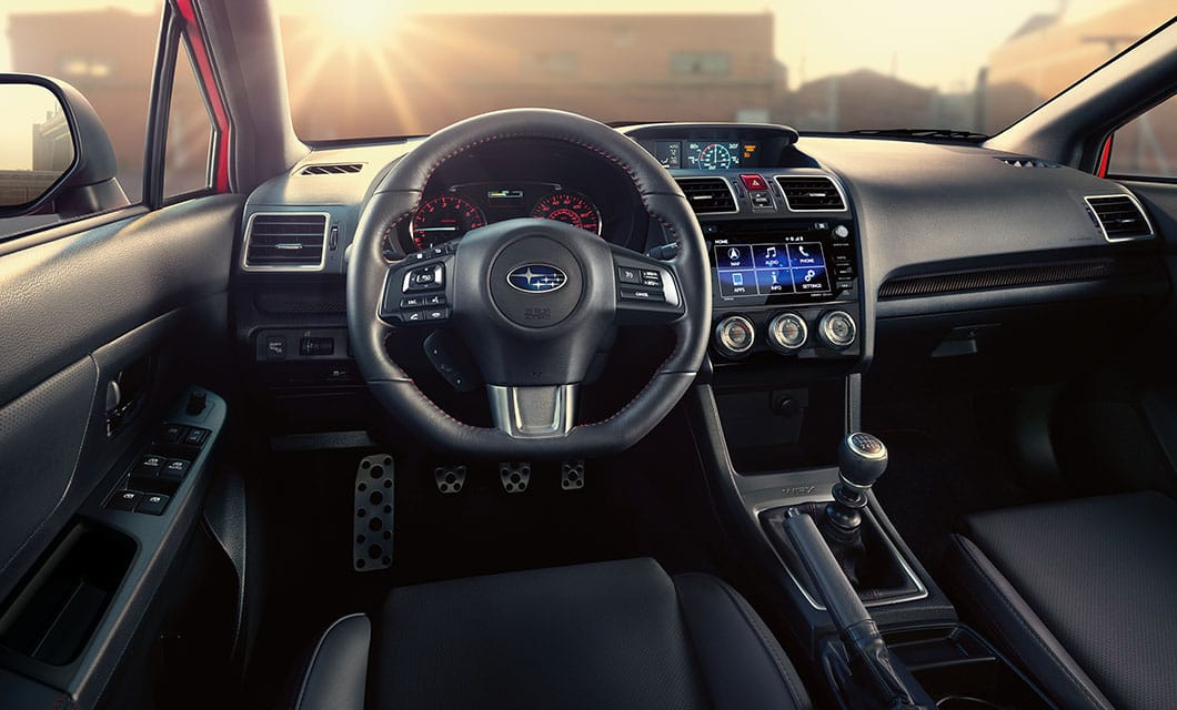 <br>Around every corner, drivers will love grasping the performance-oriented D-shaped steering wheel.<br><br><br>