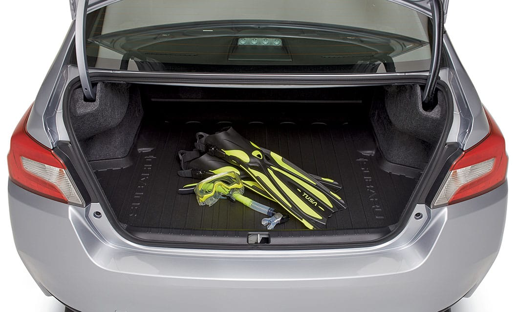<b><br>Rear Cargo Tray</b><br><br>Helps protect cargo area from dirt and spills. Can be easily removed and rinsed clean.<br><br><br>