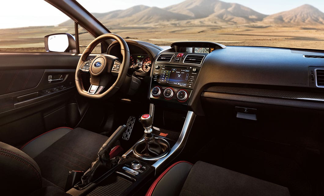 2017 Subaru Wrx Interior Features