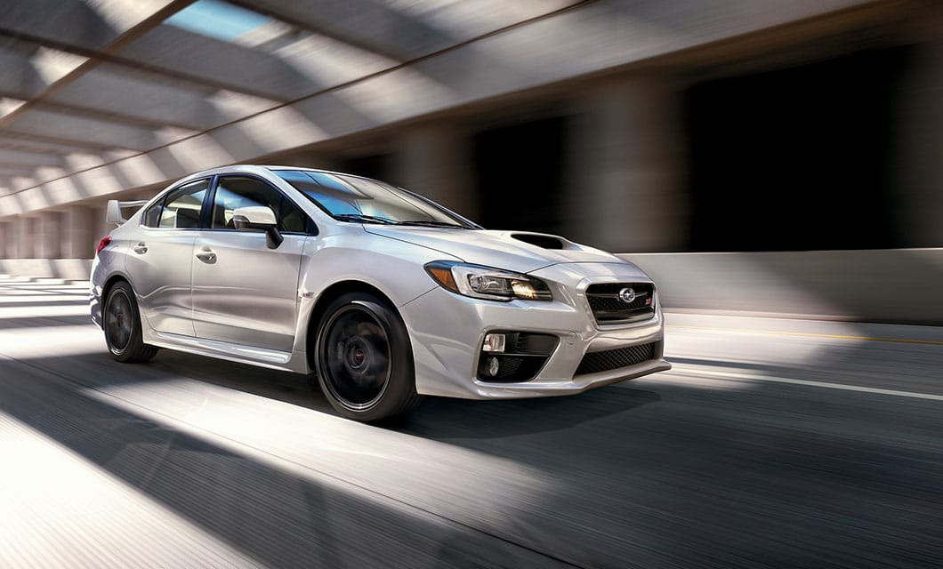Wrx Sti Br With Its Aggressive Stance And Imposing Rear Spoiler There S No Mistaking The