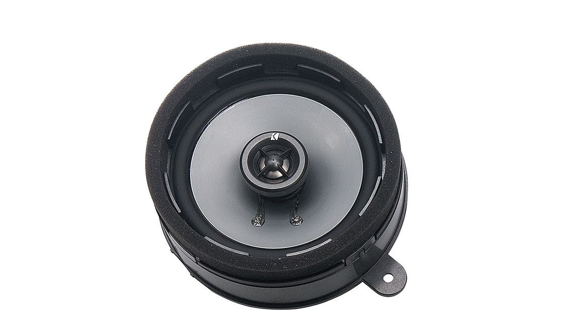 Enhance the sound clarity of your vehicle's audio system with these high-efficiency, two-way speakers. They have quality-constructed injected-molded Poly cones with 20mm silk dome tweeters and a frequency response rated at 30hz to 22khz.