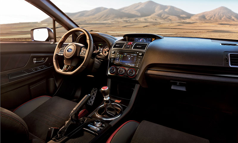 Sit In The Pilot S Seat With The 2018 Subaru Wrx Interior Technology