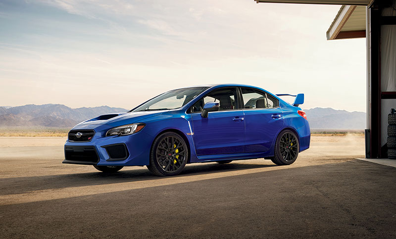 <br>Conceived by the brilliant engineering minds of Subaru Tecnica International, and developed with the input of professional racers, this is the most hard-core, responsive WRX STI to date.