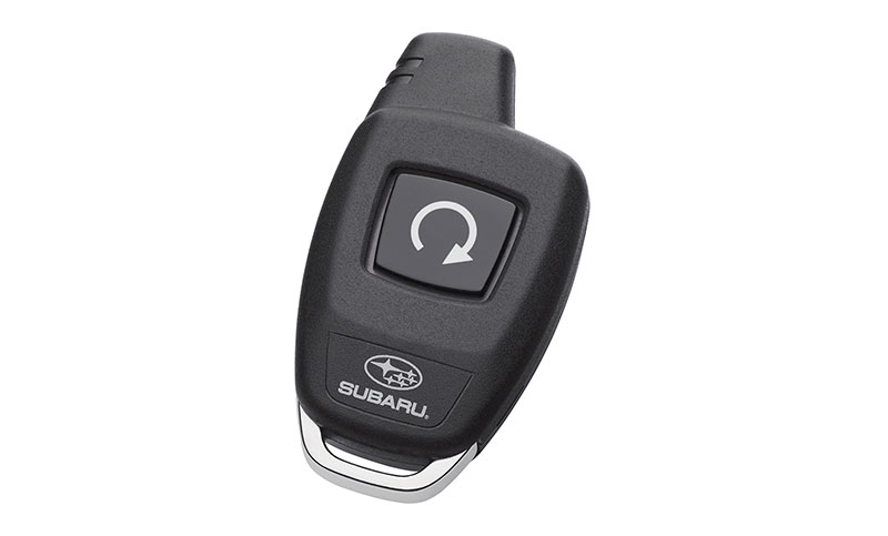 <b>Remote Engine Starter</b><br><br>Allows the vehicle to be started at the push of a button from outside the vehicle. Preset the heating or air conditioner controls to help bring the interior temperature to a more comfortable level prior to entry. Smart Engine Start works in conjunction with the Keyless Access and Smart system. Operating distance is up to 30 feet away, depending on vehicle obstructions.<br>