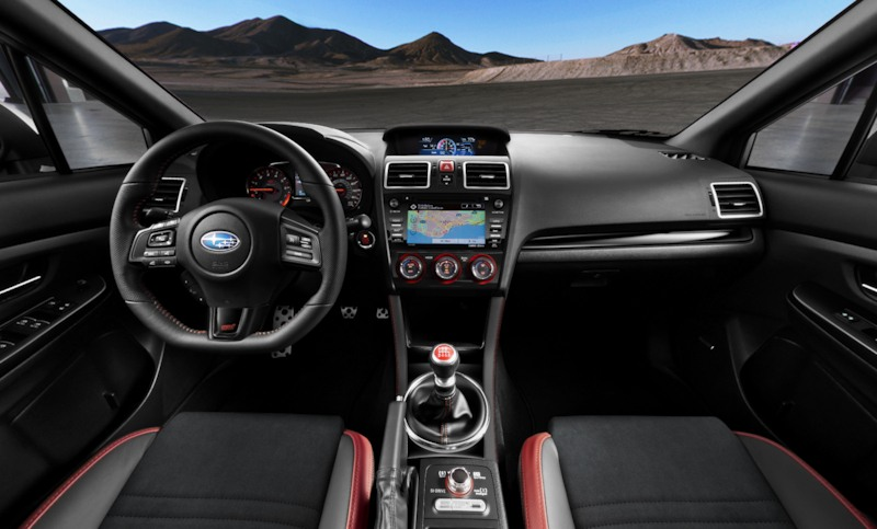 Explore The Stylish 2018 Subaru Wrx Interior Features