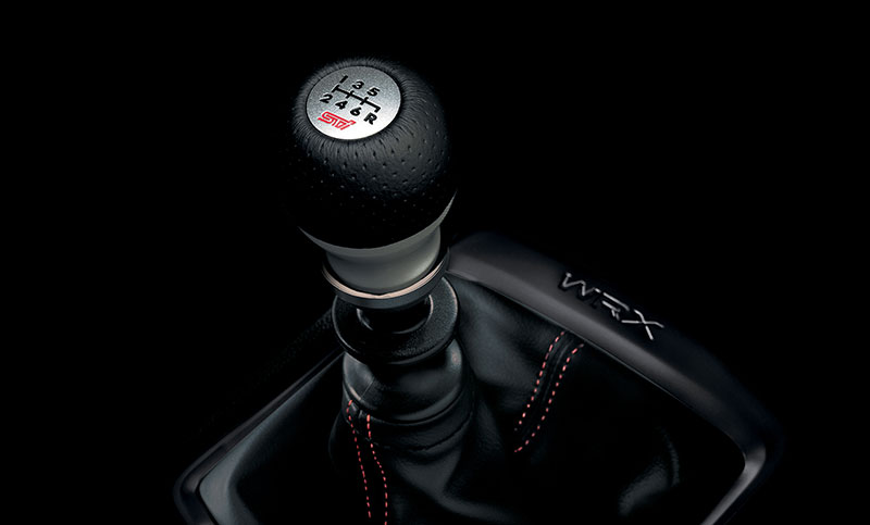 <br>Give your WRX an STI feel with the STI leather/aluminum shift knob and short-throw shifter.