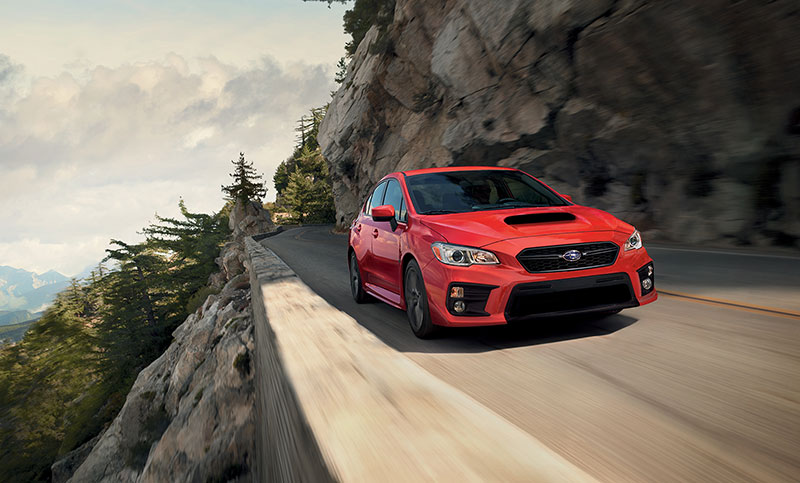 <br>The WRX suspension features aluminum front lower control arms with pillowball bushings for flat, predictable cornering.