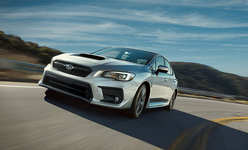 <br>A rigid unibody chassis gives the WRX the ability to carve lines others can't begin to trace.